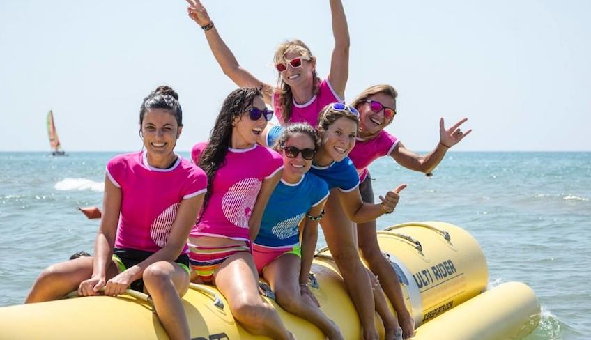 Sport & Abenteuerurlaub in Sizilien - Bananenboot