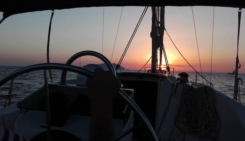 Fahrt zu den Ägadischen Inseln - Segelrouten
