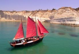 Urlaub mit dem Segelboot - Fahrt mit dem Segelboot