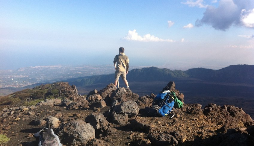 Besteigung des Vulkans sizilianischer Vulkan Tour durch Sizilien Ätna