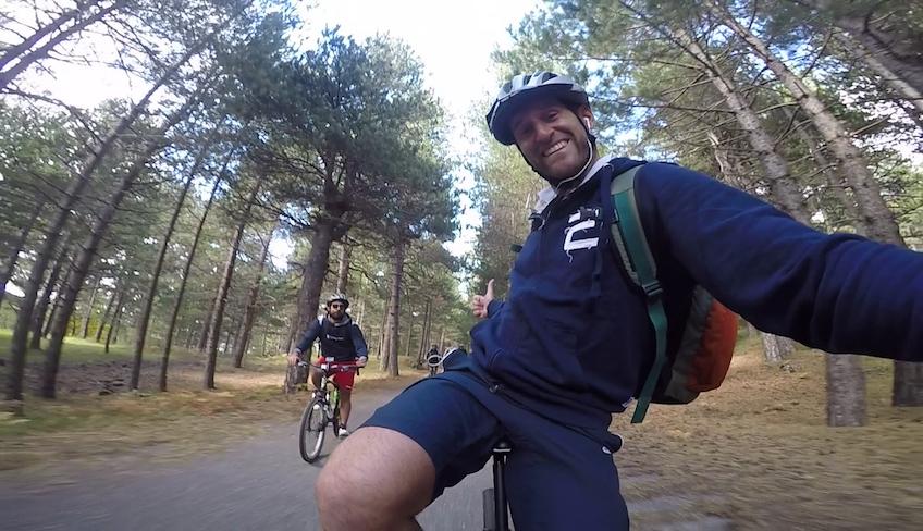 Sizilien auf dem Fahrrad Radfahren in Sizilien Ätna MTB