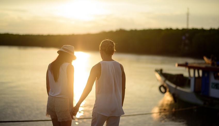 Wochenende auf dem Segelboot romantischer Aufenthalt Urlaub auf dem Boot Palermo