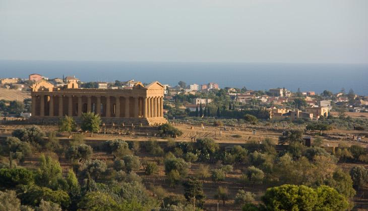 Von Palermo nach Agrigent Tour Agrigent Agrigent Sizilien Valle dei Templi