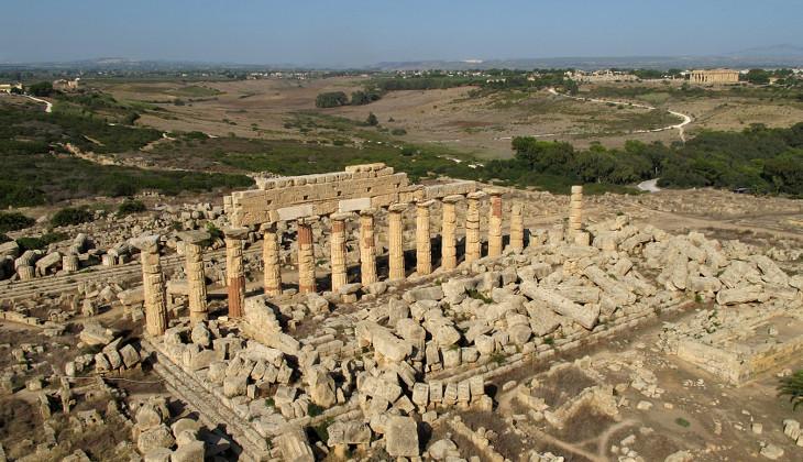 Selinunte archäologischer Park Palermo nach Selinunte Tagestrip Palermo