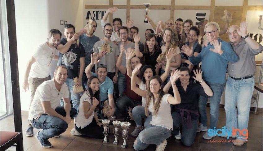 Team Building Sizilien -