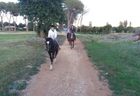 Pferderitt in Sizilien - maneggio siracusa