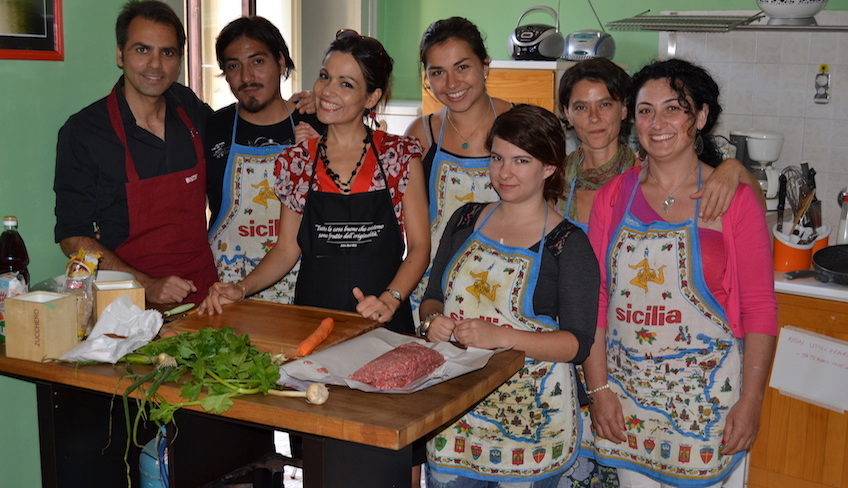 Kochkurs original sizilianische Küche italienische Rezepte Catania