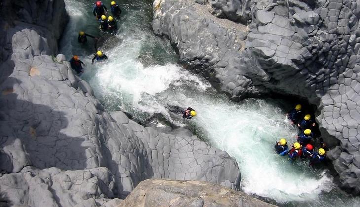 Sport & Abenteuer - Urlaub in Sizilien - Kanu Urlaub