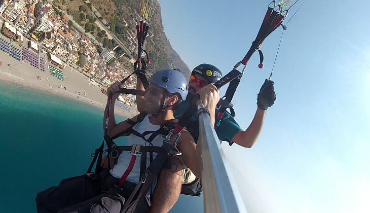 Sport & Abenteuer - Urlaub in Sizilien - Italien Paragliding