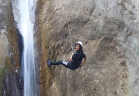 Wassersport Urlaub in Sizilien - Canyoning