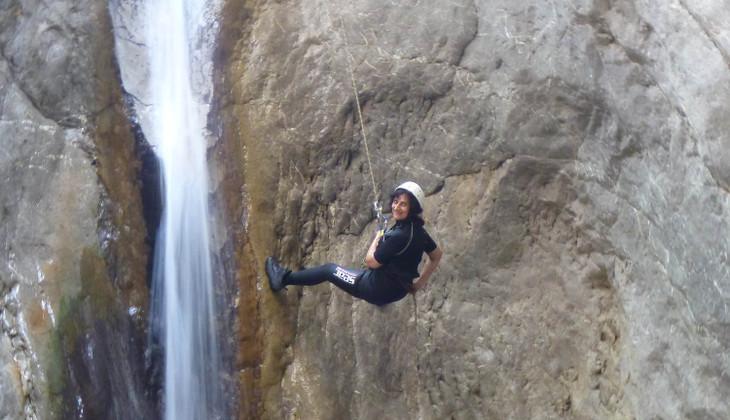 Wassersport Urlaub in Sizilien - Canyoning