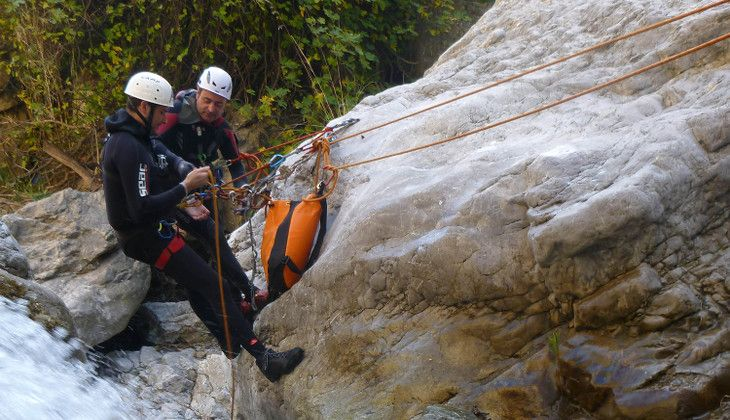 Wassersport - Canyoning