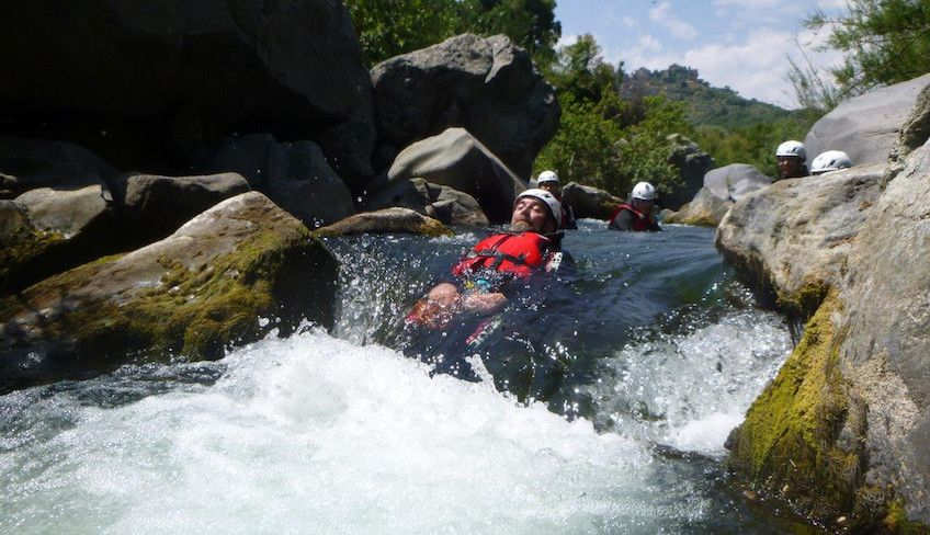 Wassersport - Canyoning