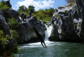 Sport & Abenteuer - Urlaub in Sizilien - Canyoning