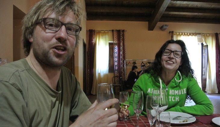 Weinverkostung - Verkostung im Weinkeller