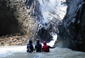 Alcantara Gorge Sizilien