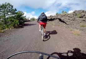 Bike Tour auf dem Ätna: Shuttle Service und Guide inklusive