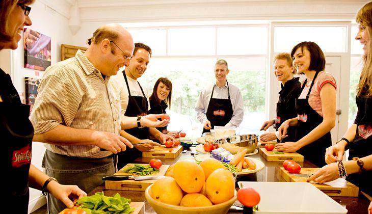 Kochstunde Sizilien - Michelin Sternekoch Kocherlebnis