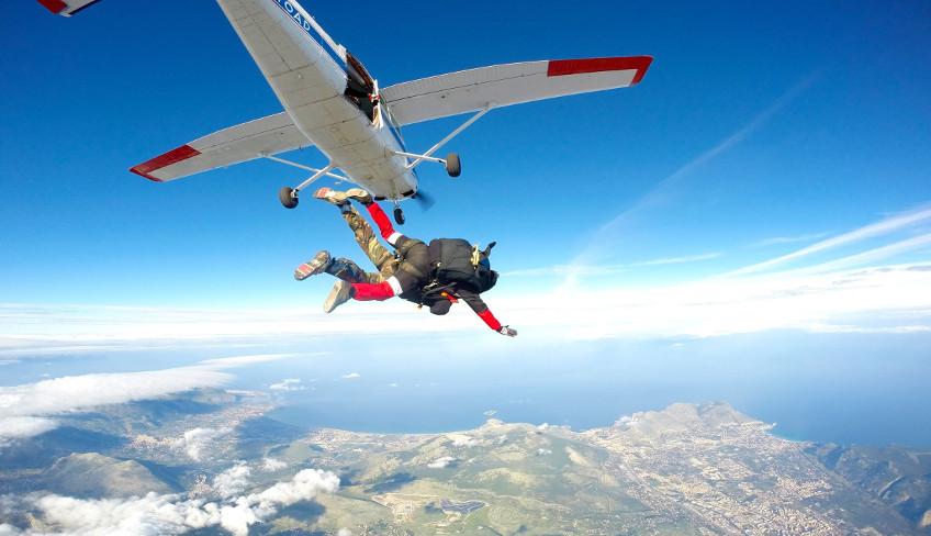 Fallschirmspringen Palermo Fallschirmsprung Palermo Fallschirmspringen Sizilien