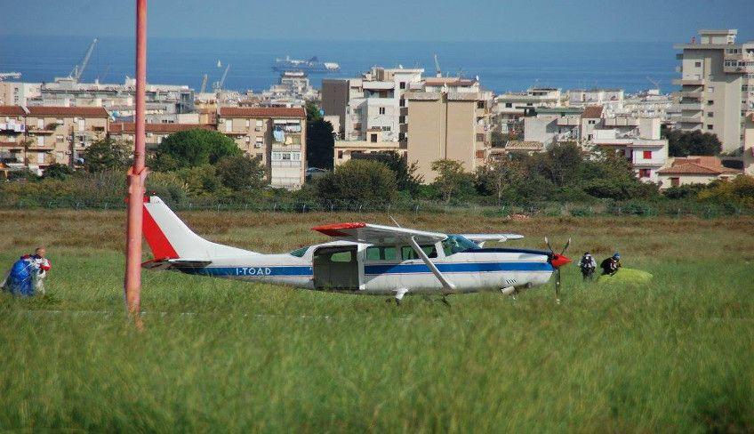 Fallschirmsprung Palermo - Fallschirmspringen Palermo