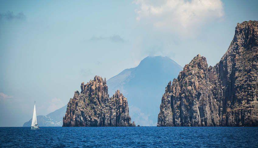 Segeln Äolische Inseln -
