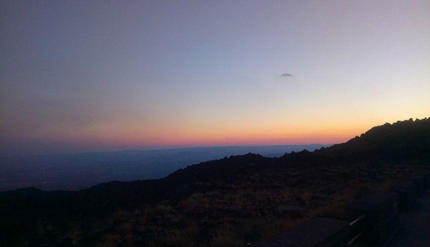 Den Ätna mit dem Auto besuchen - Ätna Sonnenuntergang Tour