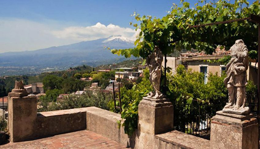 Besuch Taormina -